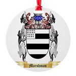 Marshman Round Ornament