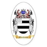 Marshman Sticker (Oval 10 pk)