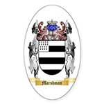 Marshman Sticker (Oval 50 pk)