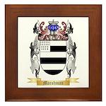 Marshman Framed Tile