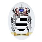 Marshman Oval Ornament
