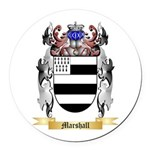 Marshall Round Car Magnet