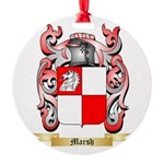 Marsh Round Ornament