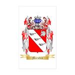 Marsdin Sticker (Rectangle 10 pk)
