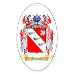 Marsdin Sticker (Oval 50 pk)