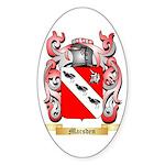 Marsden Sticker (Oval 10 pk)