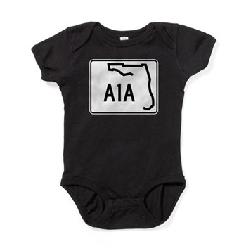 Route A1A, Florida Baby Bodysuit