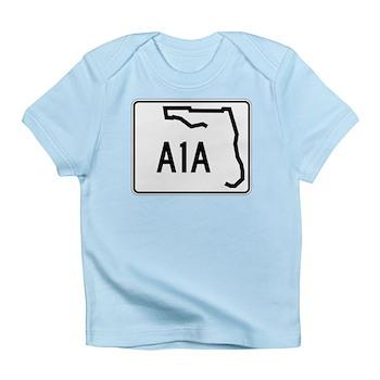 Route A1A, Florida Infant T-Shirt
