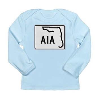 Route A1A, Florida Long Sleeve Infant T-Shirt