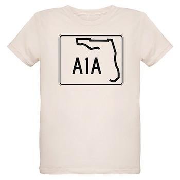Route A1A, Florida Organic Kids T-Shirt