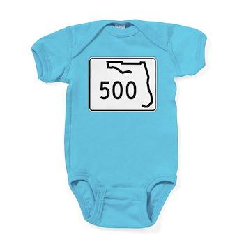 Route 500, Florida Baby Bodysuit