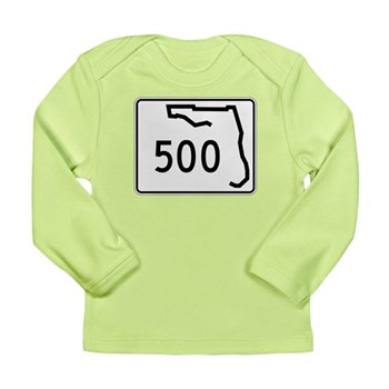 Route 500, Florida Long Sleeve Infant T-Shirt