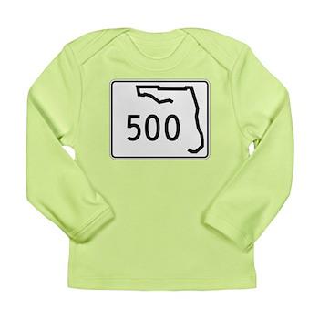 Route 500, Florida Long Sleeve Infant T-Shirt