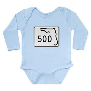 Route 500, Florida Long Sleeve Infant Bodysuit