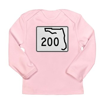 Route 200, Florida Long Sleeve Infant T-Shirt