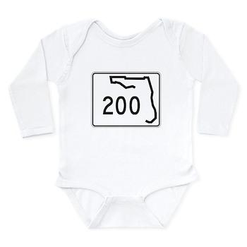Route 200, Florida Long Sleeve Infant Bodysuit