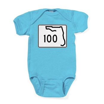Route 100, Florida Baby Bodysuit