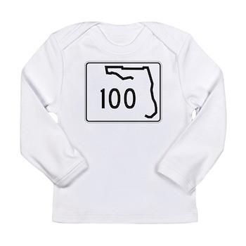 Route 100, Florida Long Sleeve Infant T-Shirt