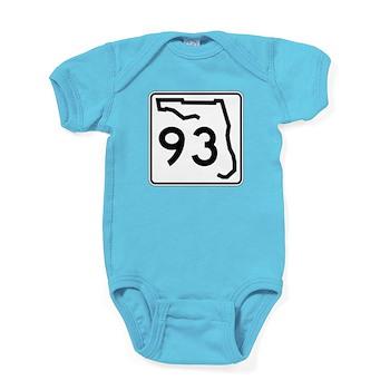 Route 93, Florida Baby Bodysuit