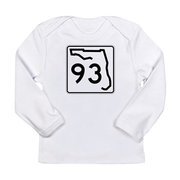 Route 93, Florida Long Sleeve Infant T-Shirt
