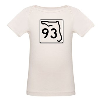 Route 93, Florida Organic Baby T-Shirt