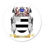 Marschallek Round Car Magnet