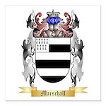 Marschall Square Car Magnet 3