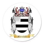 Marschall Round Car Magnet