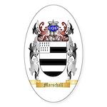 Marschall Sticker (Oval 10 pk)