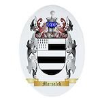 Marsalek Oval Ornament