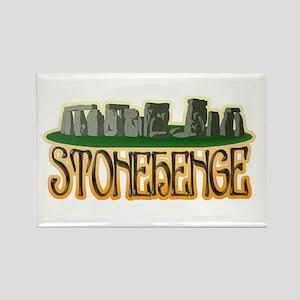 Stonehenge Rectangle Magnet