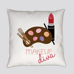 Makeup Diva Everyday Pillow
