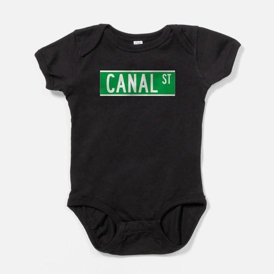 Cute Canal street manhattan Baby Bodysuit