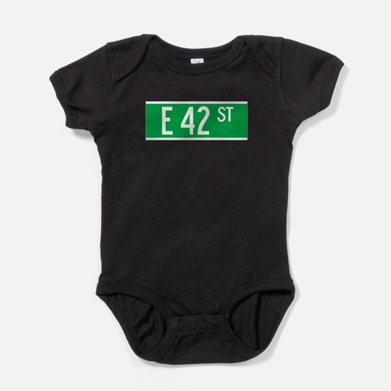 Unique 42nd street Baby Bodysuit