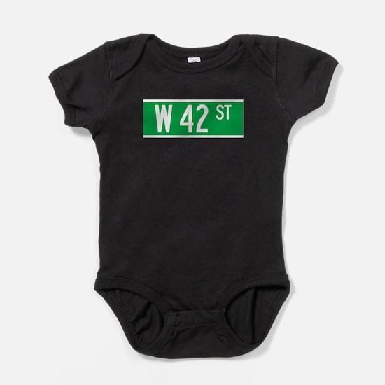 Cute 42nd street Baby Bodysuit