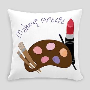 Makeup Artist Everyday Pillow