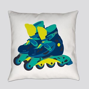 Roller Blades Everyday Pillow