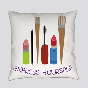 Express Yourself Everyday Pillow