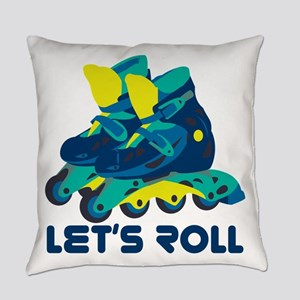 Let's Roll Everyday Pillow