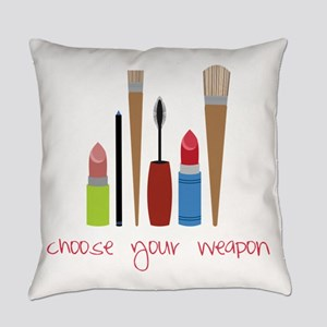 Choose Your Weapon Everyday Pillow