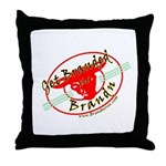 Get Branded Throw Pillow