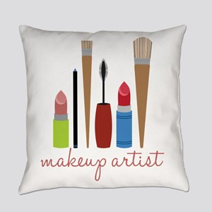 Makeup Artist Tools Everyday Pillow