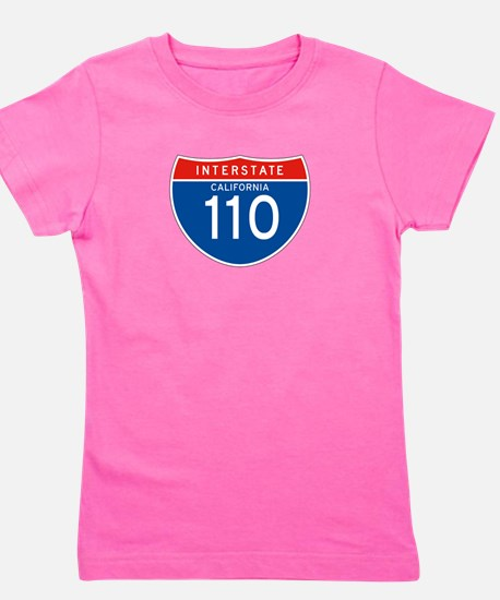 Interstate 110 - CA Girl's Tee