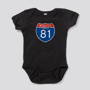 Interstate 81 - VA Baby Bodysuit