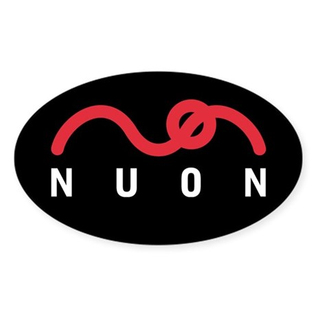 NUON Logo Oval Sticker