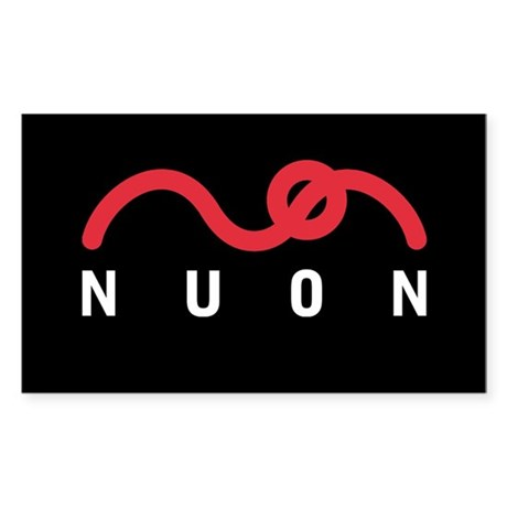 NUON Logo Rectangle Sticker