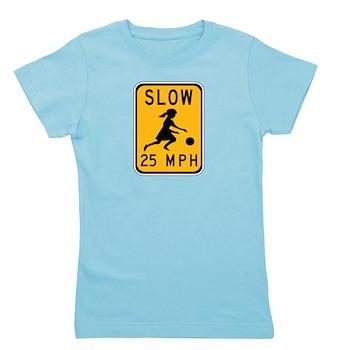Slow 25 MPH Girl's Tee