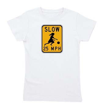 Slow 25 MPH Girl's Tee