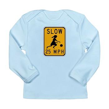 Slow 25 MPH Long Sleeve Infant T-Shirt