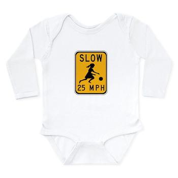 Slow 25 MPH Long Sleeve Infant Bodysuit